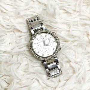 MICHAEL KORS silver Link Watch Wristwatch